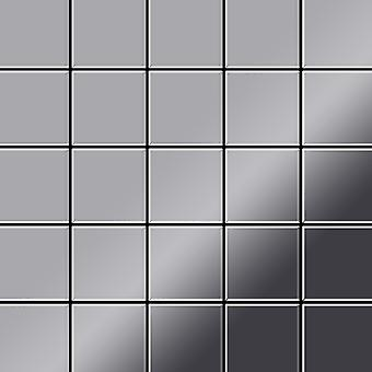 Kovová mozaika z nerezavějící oceli slitiny S-S-M