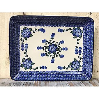 Plate 27 x 21 cm, tradition 9, BSN 60661, rectangular,