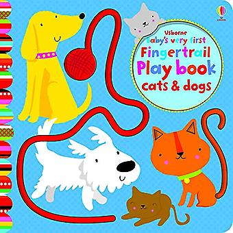 Babyens første Fingertrails Playbook katter og hunder (babyens første bøker)