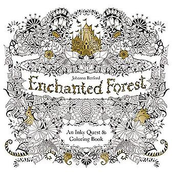 Enchanted Forest: An Inky Quest & Coloring Book [US Import]
