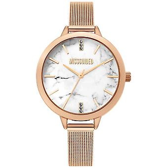 Missguided | Ladies Rose Gold Mesh | MG011RGM Watch