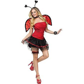 Lieveheersbeestje volwassen kostuum