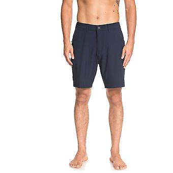 Quiksilver Union 19 Amphibian Shorts in Navy Blazer