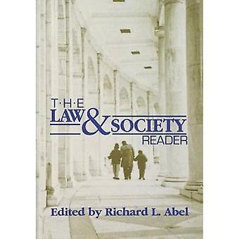 Law  Society Reader by Richard L. Abel
