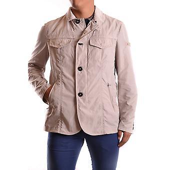 Peuterey Ezbc017034 Men's Beige Polyester Outerwear Jacket