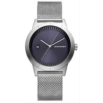 Jacob Jensen Ascent Series Watch - Silver
