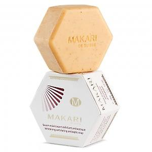 Makari Clarifying Exfoliating Soap - Antiseptic Bar for Skin Lightening - Helps Remove Impurities - For Whole Body, Youthful Glow & Complexion - 200g