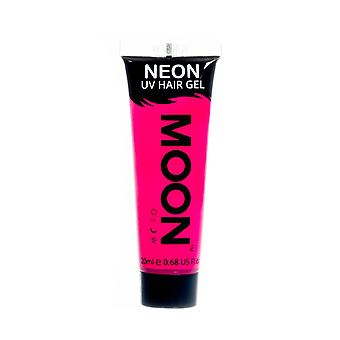Moon Glow - 20ml Neon UV Hair Gel - Temporary Wash-out Hair Colour - Pink