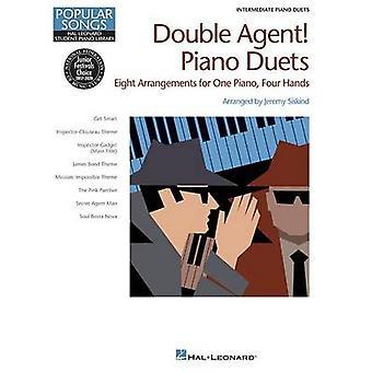 Hal Leonard Student Piano Library - Double Agent Piano Duets - Interme