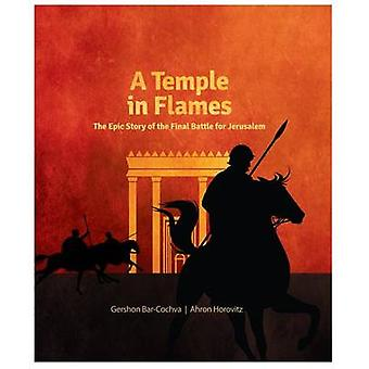 A Temple in Flames by Gershon Bar Cochva - 9781592644032 Book