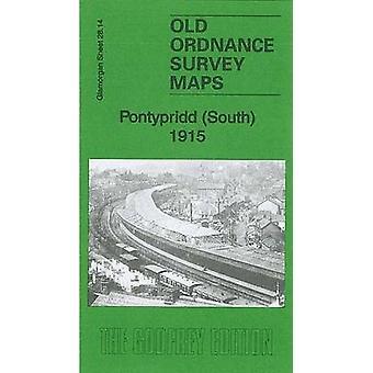 Pontypridd (South) 1915 - Glamorgan Sheet 28.14 by Derrick Pratt - 978