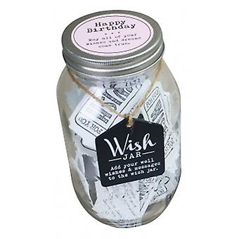 Splosh Girls Happy Birthday Wish Jar | Geschenke aus handverlesenen