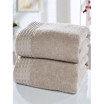 Retraite 2 delige handdoek Bale Latte