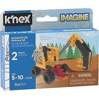 K'NEX Excavator Building Set