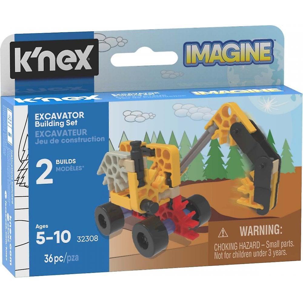 K'NEX Bagger Gebäude Set