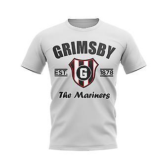 Grimsby Established Football T-Shirt (White)