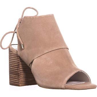 Kenneth Cole New York Womens Katarina7 Leather Open Toe SlingBack Mules