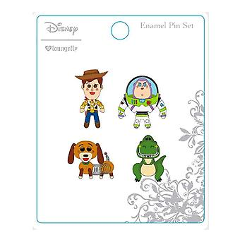Toy Story glazuur pin 4 PK