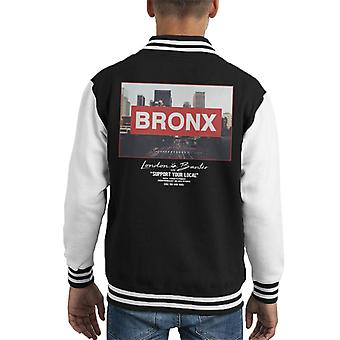 London Banter Bronx Skate Kid's Varsity Jacket