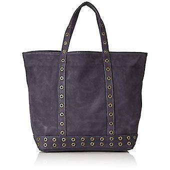 Vanessa Bruno Cabas Moyen - Blue Women's Tote Bags (Nocturne) 16x30x43 cm (W x H L)(2)