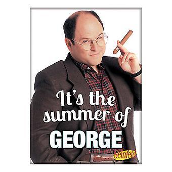 Seinfeld George Summer Magnet