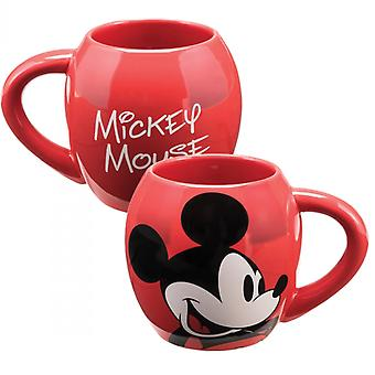 Mickey Mouse 18-Ounce Red Ceramic Mug