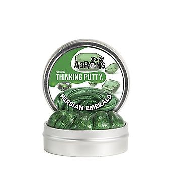 Verrückte Aaron persische Emerald denken Kitt 8Cm Zinn