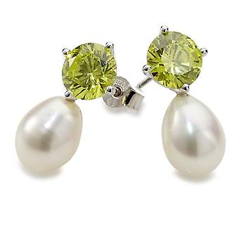 Adriana - Women's lobe earrings with cubic zirconia - sterling silver 925 - cod. RAO-G