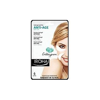 Iroha Nature Collagen Anti Age Eyes & Lips Patches (6 Per Pack)