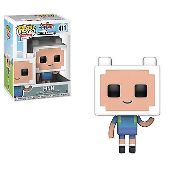 Adventure time x Minecraft Finn pop! Vinyl