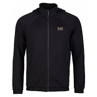 Ea7 Train Gold Label Zip Through Sweat