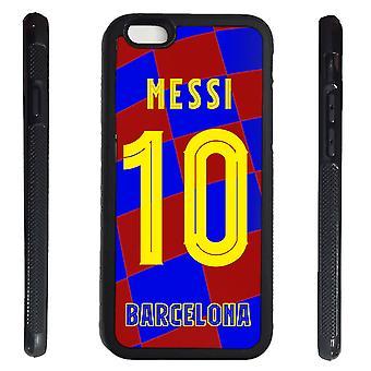 iPhone 6 6 s Shell mit Messi Pullover Design Gummischale