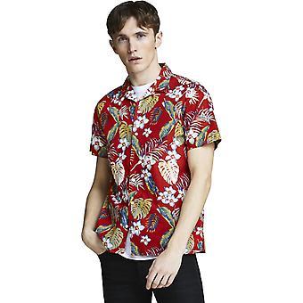 Jack & Jones Cole lyhythihainen paita tulinen punainen 85