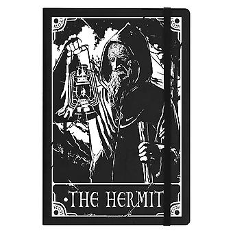 Deadly Tarot The Hermit A5 Hard Cover Notebook