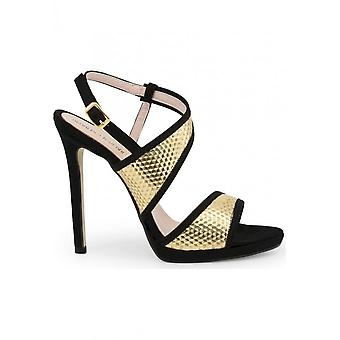 Arnaldo Toscani - Shoes - Sandal - 1218018_NERO - Women - black,gold - 40