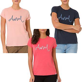 Animal Womens Reel Me In Short Sleeve Casual Summer Crew Neck T-Shirt Tee Top