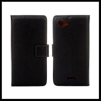 Wallet Case Sony Xperia L, Genuine leather