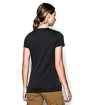 Under Armour Women's Tech Tactical Short Sleeve Shirt, Black (001), X-Small