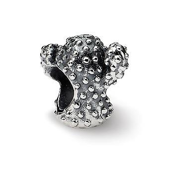 925 sterling silver antik finish reflektioner kaktus pärla charm