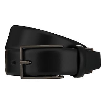LLOYD Men's Belts Gürtel Herrengürtel Ledergürtel Schwarz 8378