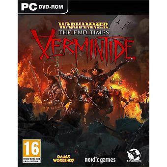 Warhammer päättymis ajat-Vermintide PC DVD peli