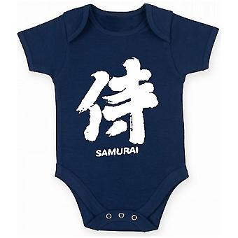 Body neonato blu navy fun3721 angel samurai