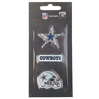 Dallas Cowboys NFL Pin Badge Pin Set of 3