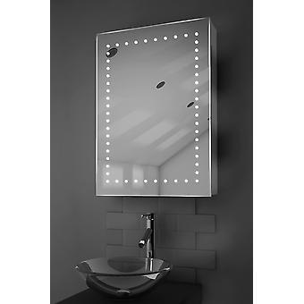 Lana LED fürdőszobaszekrény Demister paddal, érzékelővel és borotvával k353