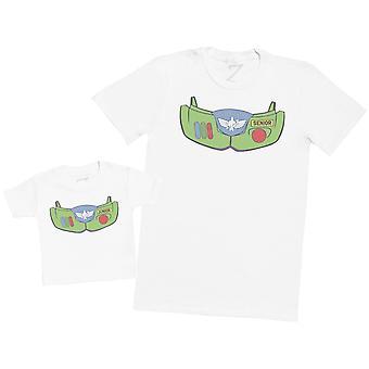 Junior & Senior Ranger - Mens T Shirt & Baby T-Shirt