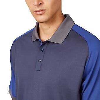 Wolsey heren kleur blok Raglan Quick dry Golf Polo shirt
