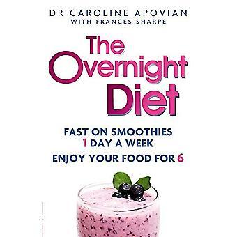A dieta durante a noite: Fast em smoothies um dia por semana. Aproveite a comida para seis.