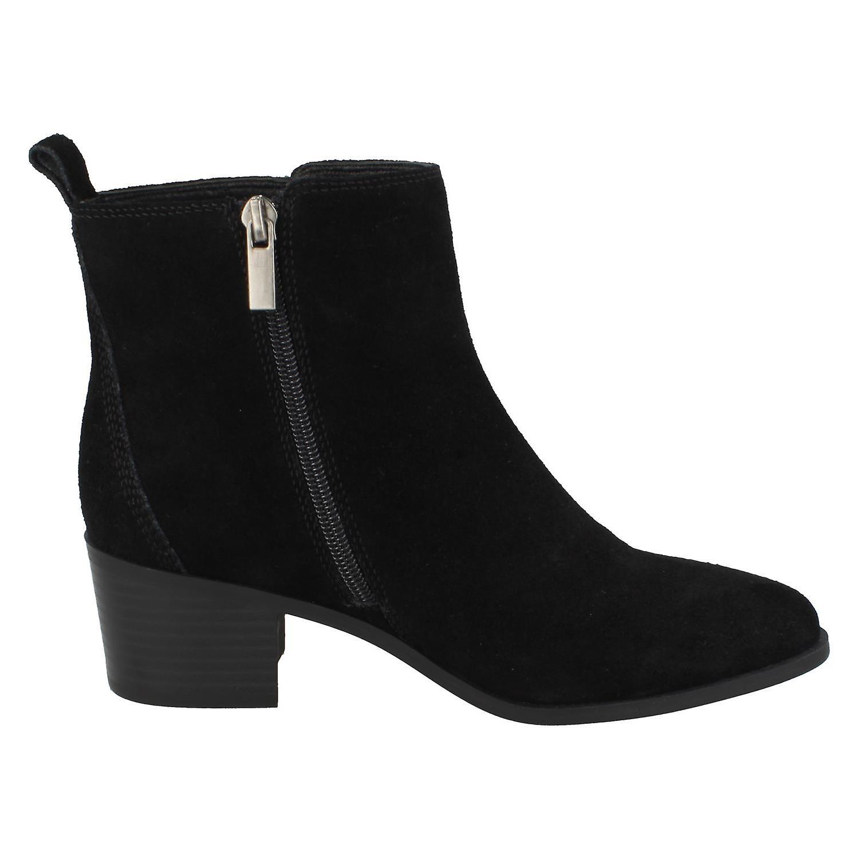 Ladies Leather Kolleksjon Ankel Boots F51126