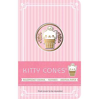 Kitty Cones Ruled Pocket Journal by Ralph Consentino