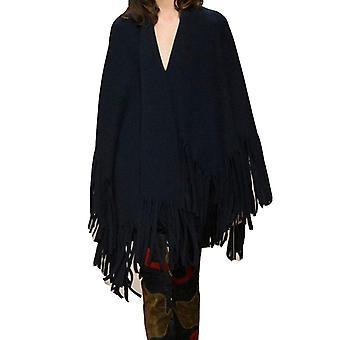 Vincenza ® womens large cape style scarf wrap poncho blanket shawl fringe pashmina